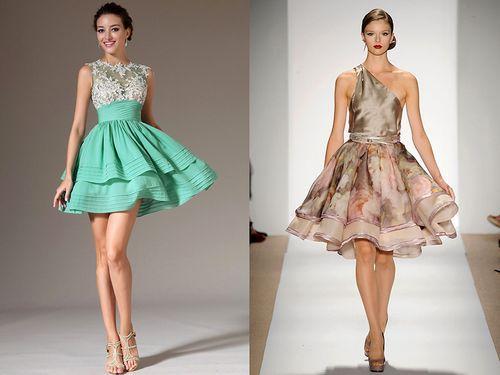 Модели платьев юбка солнце